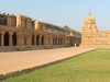  Brihadeeswarar Temple  Thanjavur - Right side Praharam 360 view