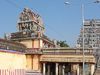  Natarajar temple  Chidambaram - Way for Amman Sannathi 360 view