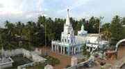 360 view Loorthu Matha Church, Villianur