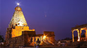 360 view Brihadeeswarar Temple  Thanjavur