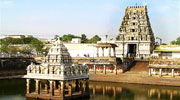 360 view Kamakshi amman Temple  Kanchipuram