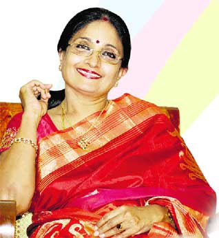"""அன்றும் ஜெ., என் """"ரோல் மாடல்': கல்லூரி நினைவுகளில் கல்யாணி"""