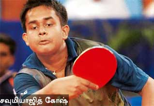 London Olympics, Table Tennis, Soumyajit Ghosh, India