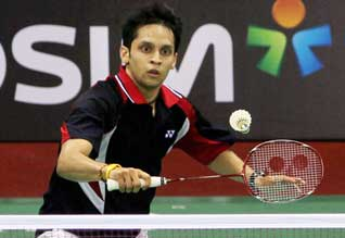 London Olympics, Kashyap, Badminton, India