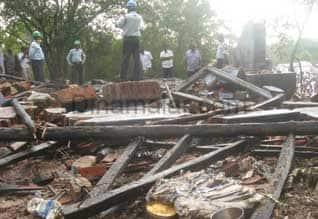 வாணவெடி தயாரிப்பு ஆலை வெடித்து சிதறியதில் 7 பேர் பலி : மேச்சேரியில் நடந்த கோர விபத்தில் 6 பேர் படுகாயம்