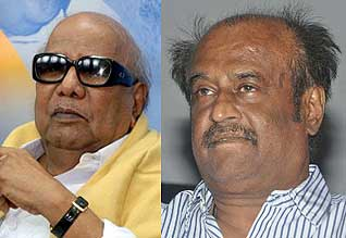 """மீண்டும் ரஜினி """"வாய்ஸ்': தூண்டில் போட்ட கருணாநிதி"""