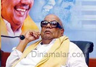 Karunanidhi wrote a letter overon destroy Hindu temple in Srilanka
