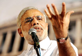 I dream that we should become an arms supplier to the world: Modi