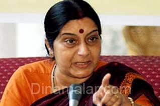 Karnataka, elections, BJP, kicks off, campaign, Sushma Swaraj, targets, Congress,ஊழல்,பயங்கரவாதத்தை, தடுக்க, காங்., அரசு ,தவறி விட்டது, அனல்பறக்க, சுஷ்மா, பிரசாரம்