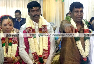 Actor, Vadivelu, son, marriage, poor girl, கூரை வீடு,  பெண், மருமகள், நடிகர் வடிவேலு