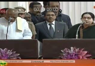 Tamilnadu Assembly Election News: தமிழகத்தில் முதல்வராக மீண்டும் ஜெ.,  பதவிப்பிரமாணம் செய்தார் கவர்னர்