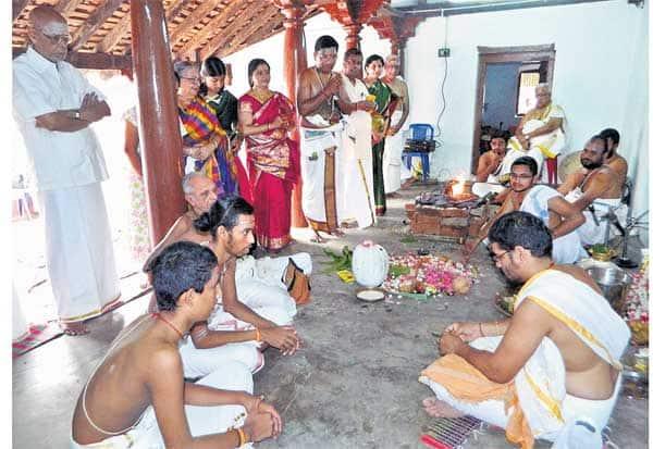 காளியாகுடியில் ரிக் வேத பாடசாலை துவக்கம்
