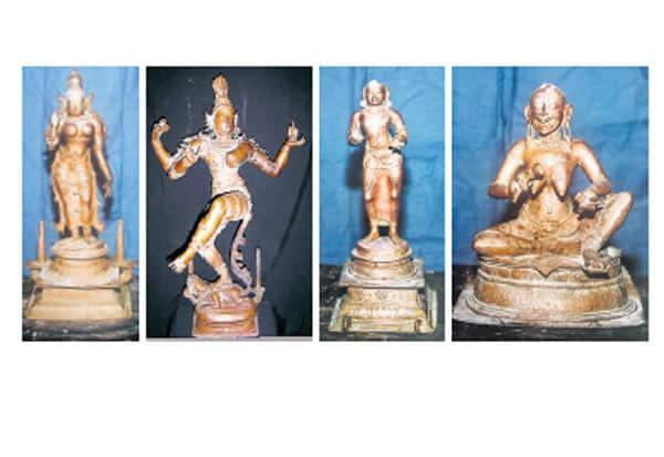 ரூ.200 கோடி சுவாமி சிலைகள் மீட்பு : மும்பை தொழில் அதிபர்கள் சிக்கினர்
