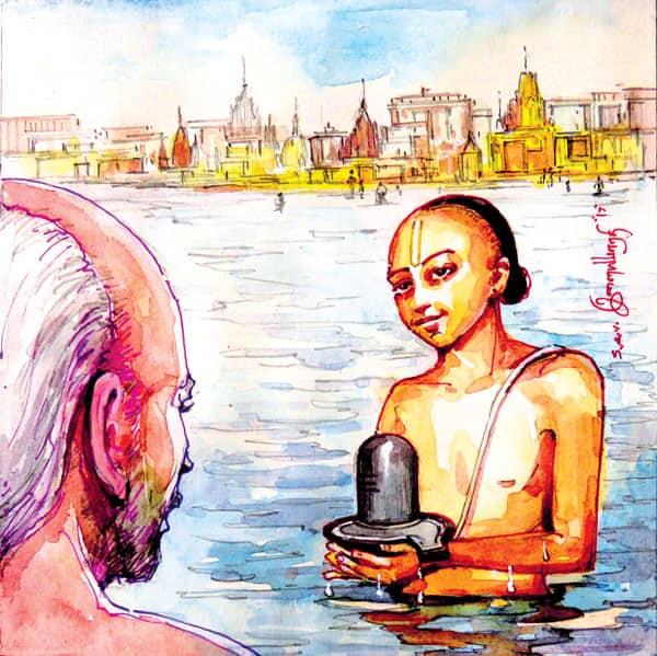 உள்ளங்கைக் கொணர்ந்த நாயனார்