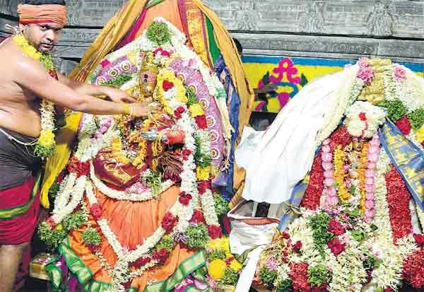 நெல்லையப்பர் கோயிலில் திருக்கல்யாணம்
