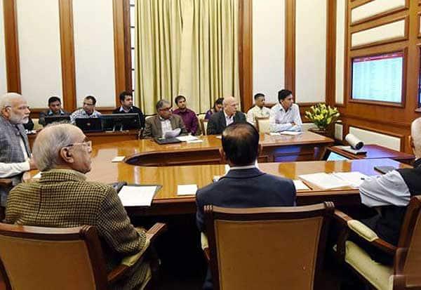 மோடி தலைமையில் இன்று பிரகதி -23வது ஆய்வுக்கூட்டம் நடைபெற்றது