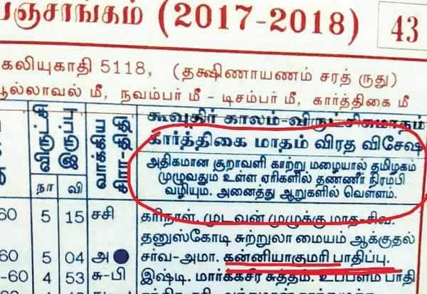 9 - 12ல் சென்னை மிதக்கும் - ஆற்காடு ஜோதிடர் கணிப்பு