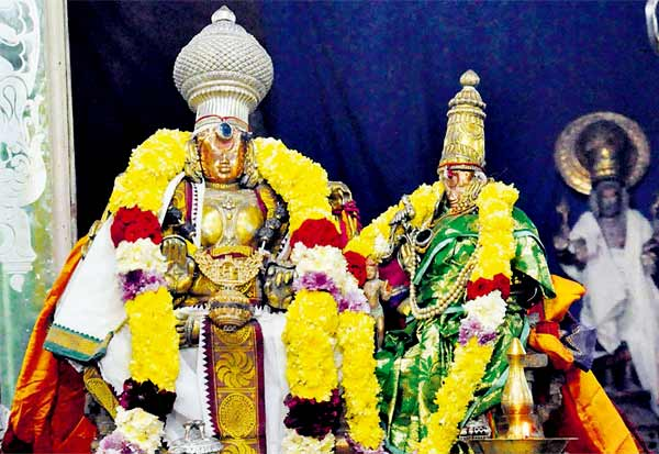 ஏகாம்பரநாதர் சிலைகளில் தங்கம் இல்லை : ஆய்வு மேற்கொண்ட போலீசார் அதிரடி தகவல்