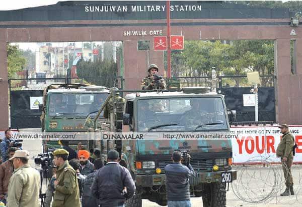 சஞ்சுவான் ராணுவ முகாம்,  சர்ஜிகல் ஸ்டிரைக், ஜெய்ஷ் - இ - முகமது பயங்கரவாதிகள்,ராணுவ அமைச்சர் நிர்மலா சீதாராமன், பாகிஸ்தான் ராணுவ அமைச்சர் குர்ராம் தஸ்தகீர் கான்,  chanjuvan military camp, Pakistan , Jammu and Kashmir, Surgeon strike,Jaish-e-Mohammed Terrorists, Defense Minister Nirmala Sitharaman, Pakistan Defense Minister Khurram Dastgir Khan,பாகிஸ்தான் அலறல், ஜம்மு காஷ்மீர்,