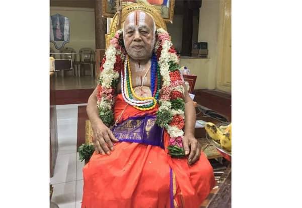 ஸ்ரீரங்க நாராயண ஜீயர், காலமானார்