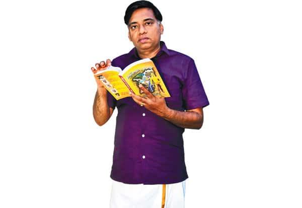 ஐ.ஏ.எஸ்., அதிகாரி, எழுத்து காதல்,ராஜேந்திரன்