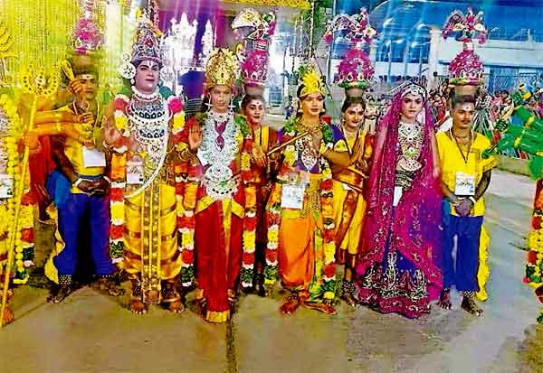 திருப்பதி பிரம்மோற்சவத்தில் மதுரை கிராமிய குழு
