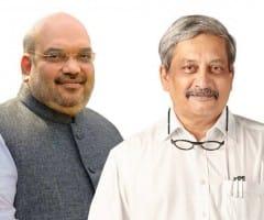 கோவா முதல்வராக பரீக்கர் நீடிப்பார்: அமித் ஷா