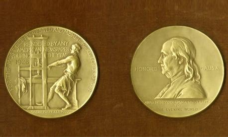 புலிட்சர் விருது - 2018