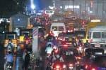 தீபாவளி பயணம்:  ஸ்தம்பித்தது சென்னை