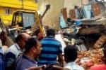 அடுக்குமாடி குடியிருப்பு இடிந்து பெங்களூருவில் 7 பேர் பலி