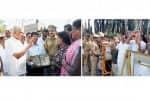 கவர்னருக்கு கறுப்பு கொடி: 25 பேர் மீது வழக்கு