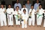 தென்னிந்திய கராத்தே போட்டிவிழுப்புரம் மாணவர்கள் சாதனை