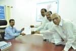 தெலுங்கானா முதல்வர் சந்திர சேகரராவ் வேட்பு மனு தாக்கல்