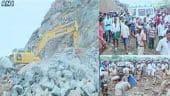 ஆந்திரா: கல்குவாரி பாறைகள் சரிந்து 6 பேர் பலி