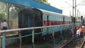 சென்னை சென்ட்ரல் ரயில் நிலையத்தில் தீ விபத்து