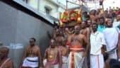 திருப்பதியில் ஆண்டாள் சூடி கொடுத்த மாலைக்கு பூஜை