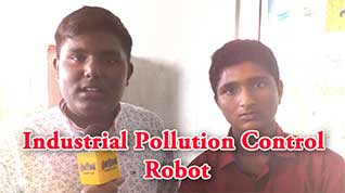Industrial Pollution Control Robot