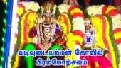 வடிவுடையம்மன் கோவில் பிரம்மோற்சவம்
