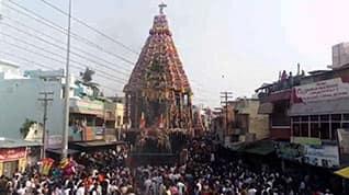 வேதகிரிஸ்வரர் கோயிலில் திருத்தேர் பவனி