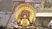 சூரிய பிரபை வாகனத்தில் மலையப்ப சுவாமி