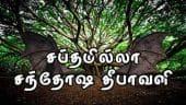 சப்தமில்லா சந்தோஷ தீபாவளி