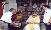 கருணாநிதியுடன் பாடகர் கோவன் சந்திப்பு