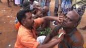 Tamil Celebrity Videos ஜெ. மறைவு ; தொண்டர்கள் மொட்டை