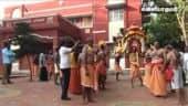 போலீசார், பொதுப்பணித்துறையினர் காவடி