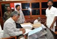 கருணாநிதியை எதிர்த்தவர் எம்.பி., பதவிக்கு போட்டி