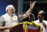 நாட்டை காப்பாற்ற காங்கிரஸ் அரசை அகற்ற வேண்டும்: சென்னை கூட்டத்தில் மோடி அறைகூவல்