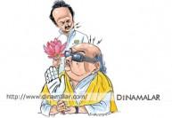 கூட்டணி விவகாரம்: கருணாநிதி - ஸ்டாலின் மல்லுக்கட்டு