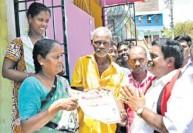 தி.மு.க., வேட்பாளர் சிவா கென்னடி நகரில் ஓட்டு சேகரிப்பு