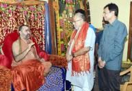 பிரதமர் மோடி சகோதரர் காஞ்சிபுரத்திற்கு வருகை
