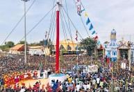 தூத்துக்குடி பனிமய மாதா சர்ச் திருவிழா கொடியேற்றத்துடன் துவக்கம்